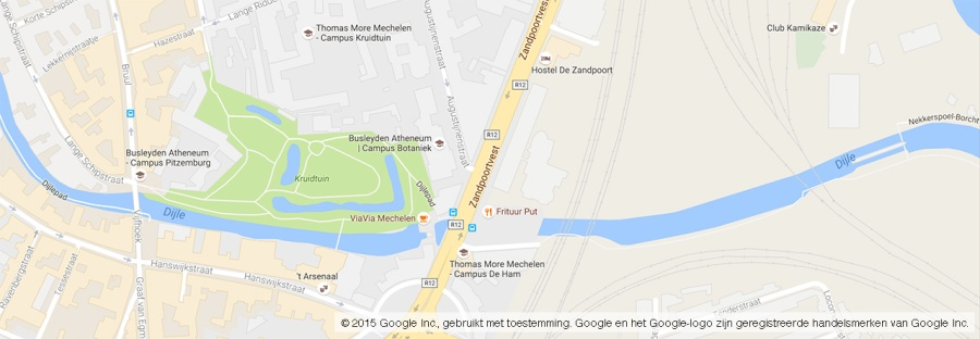 Google Maps Locatie Thomas More Mechelen